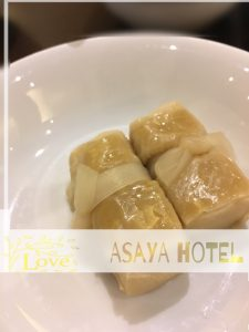 あさやホテル 湯葉高野豆腐
