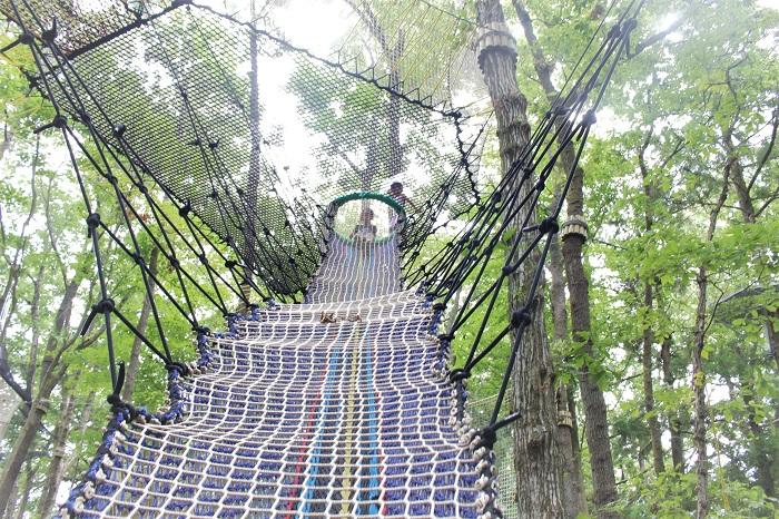森の空中遊び パカブ