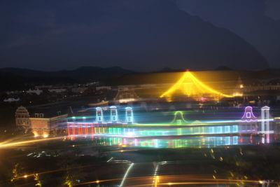 ハウステンボス 観覧車からの夜景