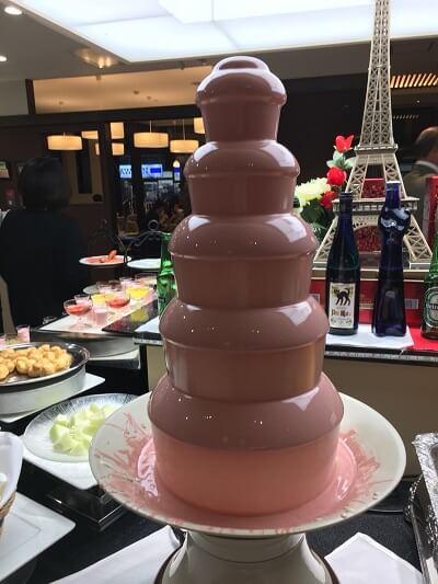 レンブラントホテル厚木 チョコレートフォンデュ