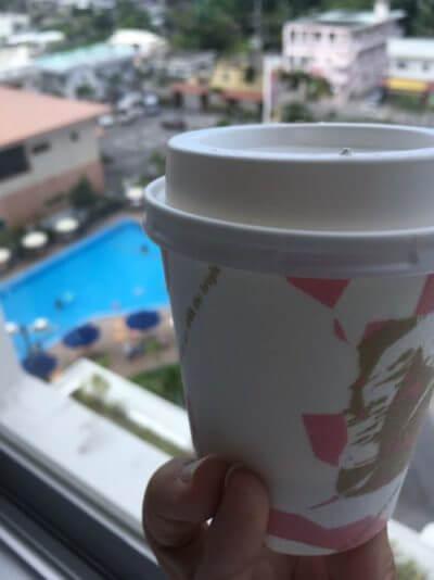 アートホテル石垣島の朝食バイキングはテイクアウトコーヒーのサービスも