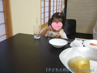 3歳児 食事風景