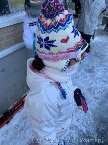 子ども用のゴーグルは防寒にも!